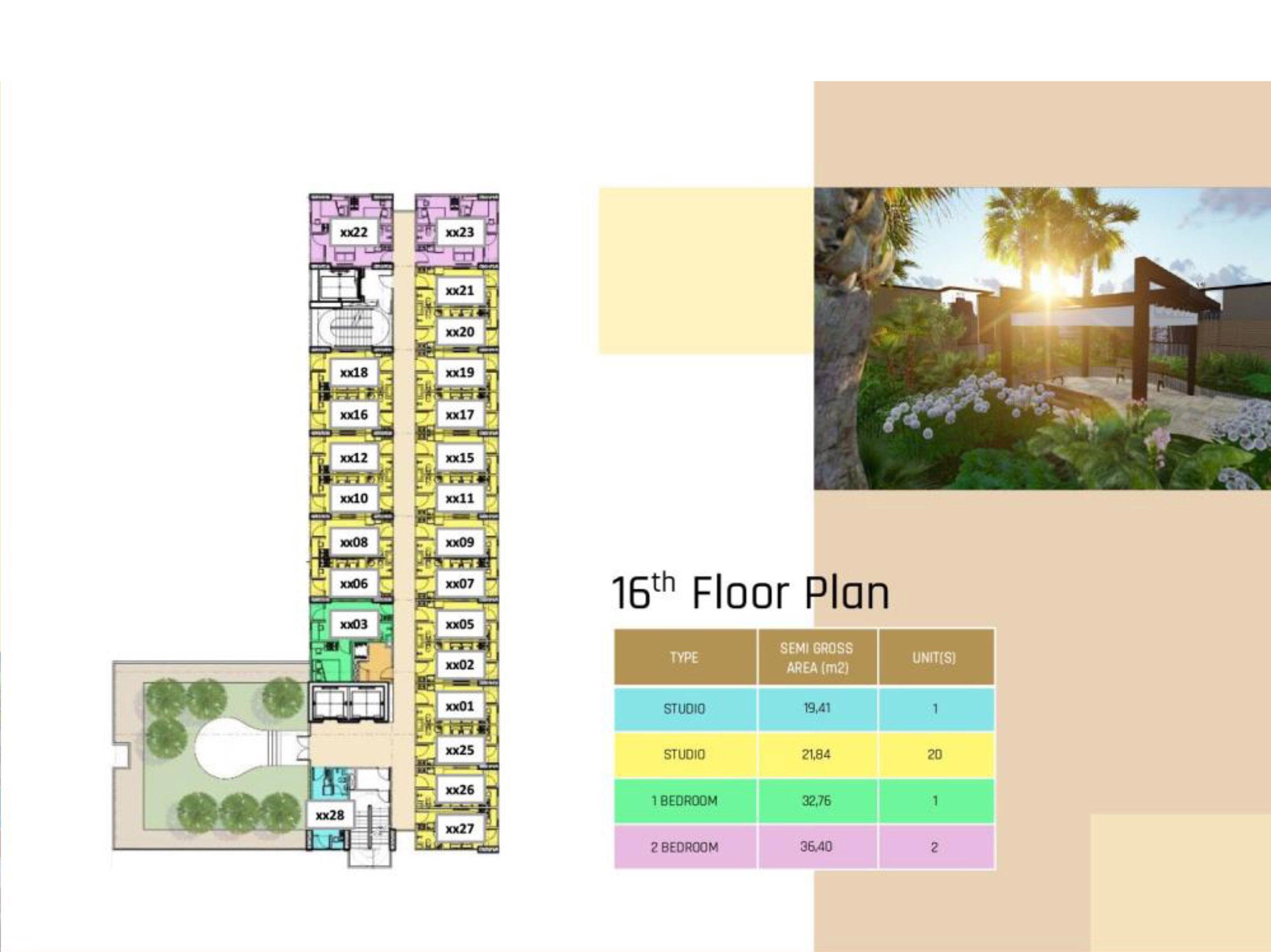 16 Floor Plan