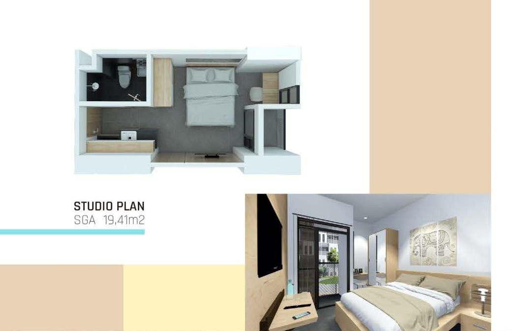 Studio Plan SGA 19.41 M2